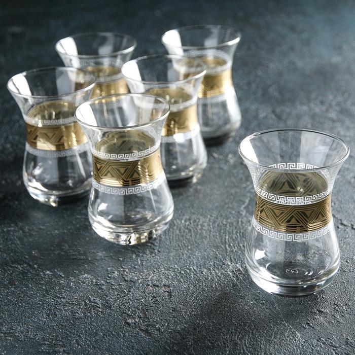 "Набор стаканов для чая 160 мл ""Пирамида"", 6 шт"
