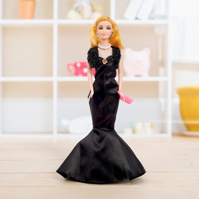 Кукла модель «Оля» в платье