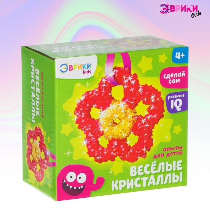Набор для выращивания кристаллов «Цветок»