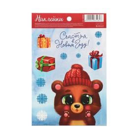 Бумажные наклейки «Милый медвежонок», 14 ? 21 см