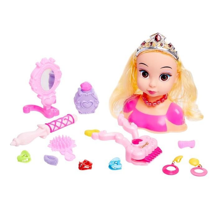 Кукла-манекен для создания причёсок «Арина», с аксессуарами
