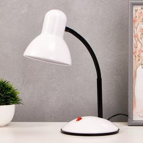 """Лампа настольная """"Школа"""" 1х40Вт E27 белый 22х14х32 см."""