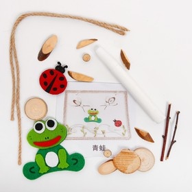 "A set of creative eco decor ""Frog and insects"" glue 15 ml"