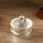 Casket glass Round mini 3,5х4х4 cm