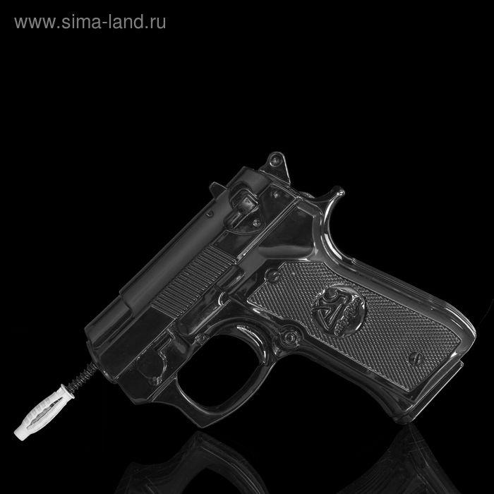 """Вешалка """"Пистолет"""" черная"""