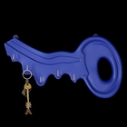 """Ключница """"Ключ"""" синяя"""
