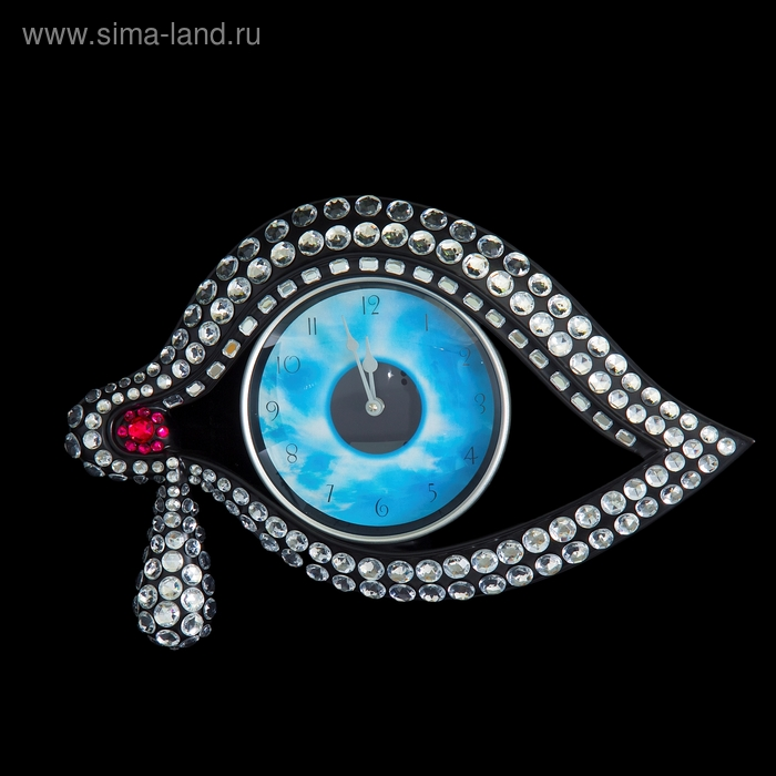 "Часы настенные ""Глаз"" черные"