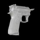 "Вешалка ""Пистолет"", цвет хром - фото 1558421"