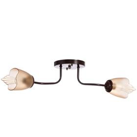 Люстра 1341003/2BR E27 15Вт коричневый