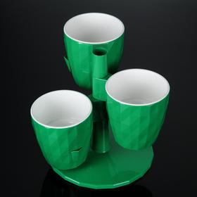 Кашпо Ruby «Каскад», 1 л, цвет зелёный