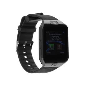 Смарт-часы Smarterra SmartLife X, 1.54', IPS, IP54, Bt3.0, microSIM, 380 мАч, чёрные Ош