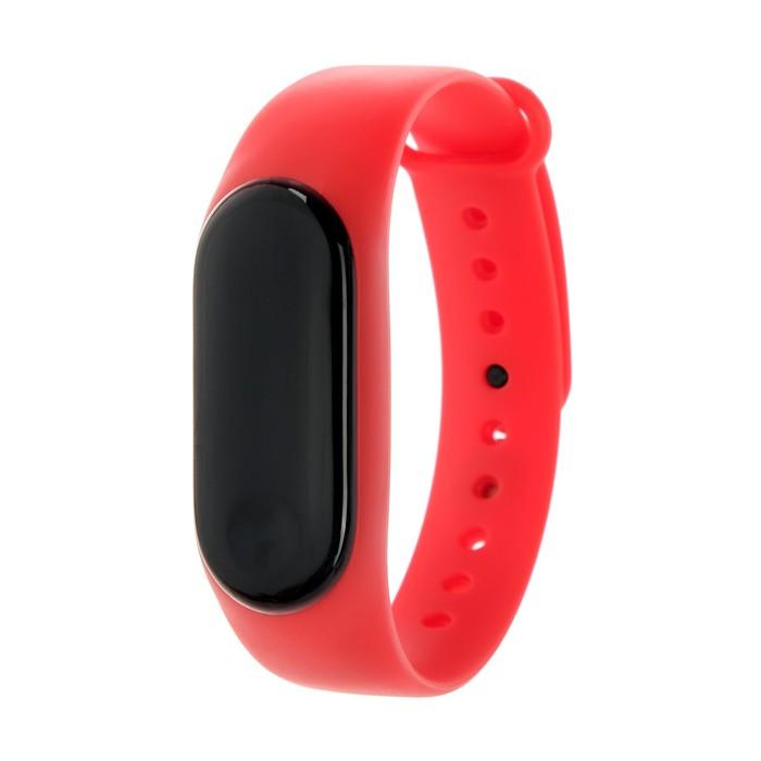 """Фитнес-браслет Smarterra Fitmaster Color, 0.96"""", IP67, цветной экран, пульсометр, красный"""