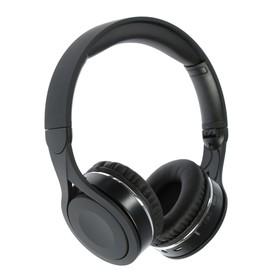Наушники Gorsun E90, беспроводные, полноразмерные, микрофон, BT v4.1, 400 мАч, чёрные