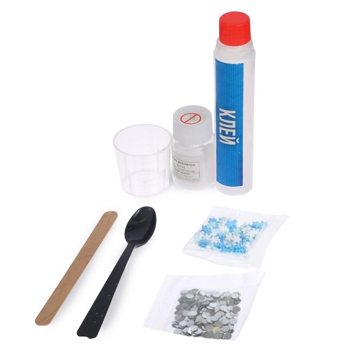 Опыты для детей «Снежный лизун», в пакете