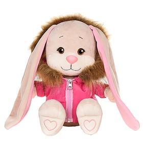Мягкая игрушка «Зайка Лин» в розовой зимней куртке, 25 см