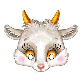 """Mask """"Goat"""". 376x178 mm 401-29"""