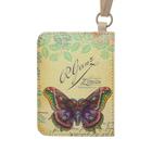 Чехол-кошелёк для карт «Винтажная бабочка»