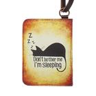 Чехол-кошелёк для карт «Спящий кот»