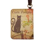 Чехол-кошелёк для карт «Чёрный кот»