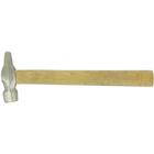 Молоток 10239, слесарный, круглый боек, деревянная рукоятка, 400 г