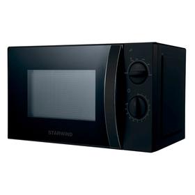 Микроволновая печь Starwind SMW2320, 700 Вт, 20 л, ручка, чёрная