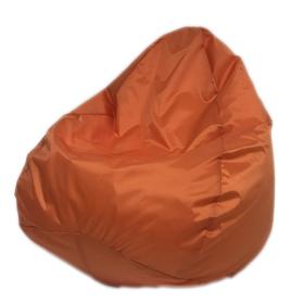 Кресло-мешок «Юниор», ширина 75 см, высота 100 см, оранжевый, плащёвка