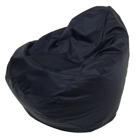 Кресло-мешок «Юниор», ширина 75 см, высота 100 см, темно-синий, плащёвка