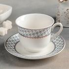 "A couple of tea ""Boleyn"" Cup 220 ml, 10,5x8,8х7 cm, saucer 14 cm"