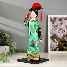 """Кукла коллекционная """"Китаянка в национальном платье"""" 32х12,5х12,5 см - фото 2218335"""