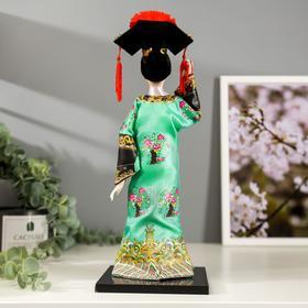 """Кукла коллекционная """"Китаянка в национальном платье"""" 32х12,5х12,5 см - фото 2218336"""