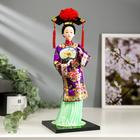 """Doll collection """"Chinese woman in national dress with a fan"""" 32х12,5x12,5 cm"""