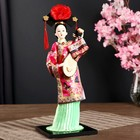 "Doll collection""Chinese national Park. dress with music.tools. the Pipa""MIX 32х12,5x12,5cm"