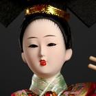"""Кукла коллекционная""""Китаянка в национ. платье с муз.инструмен. - пипой""""МИКС 32х12,5х12,5см - фото 2218348"""