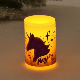Свеча светодиодная восковая «Magic»