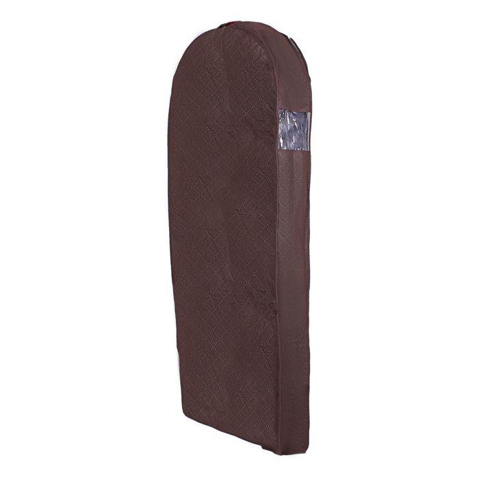 Чехол для зимней одежды, спанбонд, цвет коричневый