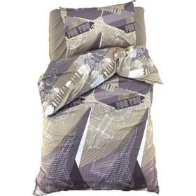 Постельное бельё Этель 1.5 сп «Механика» 143*215 см, 150*214 см, 50*70 см -1 шт,100% хл