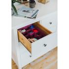 Органайзер для белья «Бордо», 12 ячеек, 32×24×12 см, цвет бордовый - фото 4641045