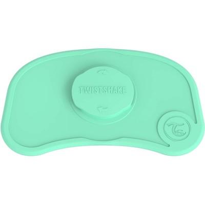 Коврик для кормления Twistshake Click Mat Mini, цвет пастельный зелёный, 6+ мес