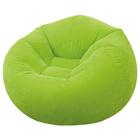 Кресло надувное, флок 107х104х69 см, от 6 лет, цвета МИКС 68569NP INTEX