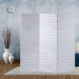 """Ширма """"Кирпичная стена"""", 160 × 150 см"""