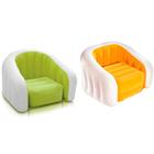 Кресло надувное, флок 97х76х69 см, от 6 лет, цвета МИКС 68571NP INTEX
