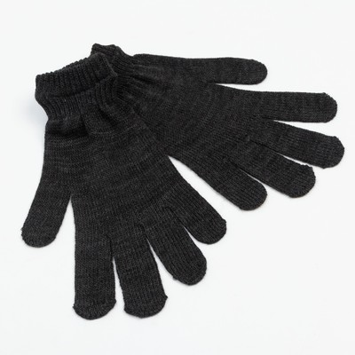 Gloves men's, color: dark Heather grey, size 20