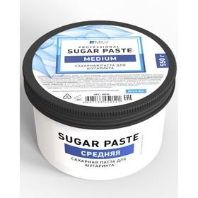 Сахарная паста для шугаринга Milv «Sugar», средняя, 550 г