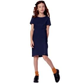 Платье для девочек, рост 146 см, цвет синий