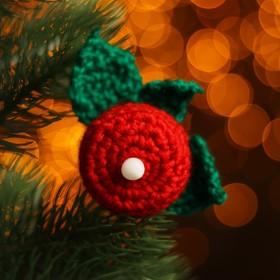 Набор для создания новогодней подвески со светом «Свечка»