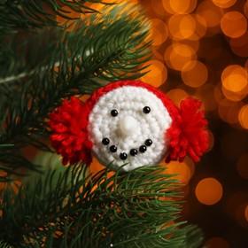 Набор для создания новогодней подвески со светом «Мордочка»