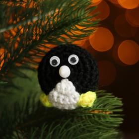 Набор для создания новогодней подвески со светом «Пингвинчик»