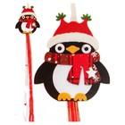 Набор для создания новогодней подвески «Пингвин в шарфике» - фото 98252
