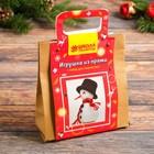 Набор для создания игрушки из пряжи «Снеговичок» - фото 98682