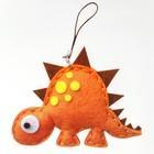 Набор для создания подвески из фетра «Динозавр» - фото 691639